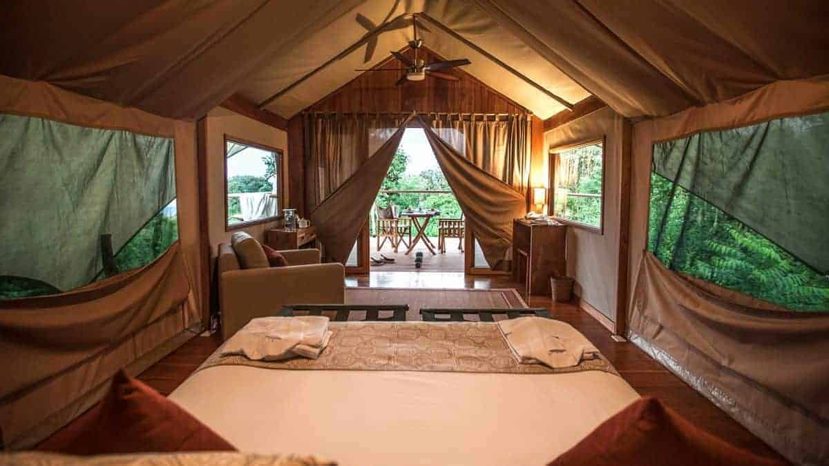 Galapagos Safari Camp - Zelt mit Aussicht