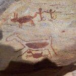 Archäologie Felsmalerei