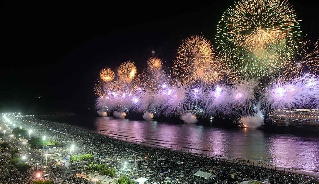 Neujahr Rio de Janeiro