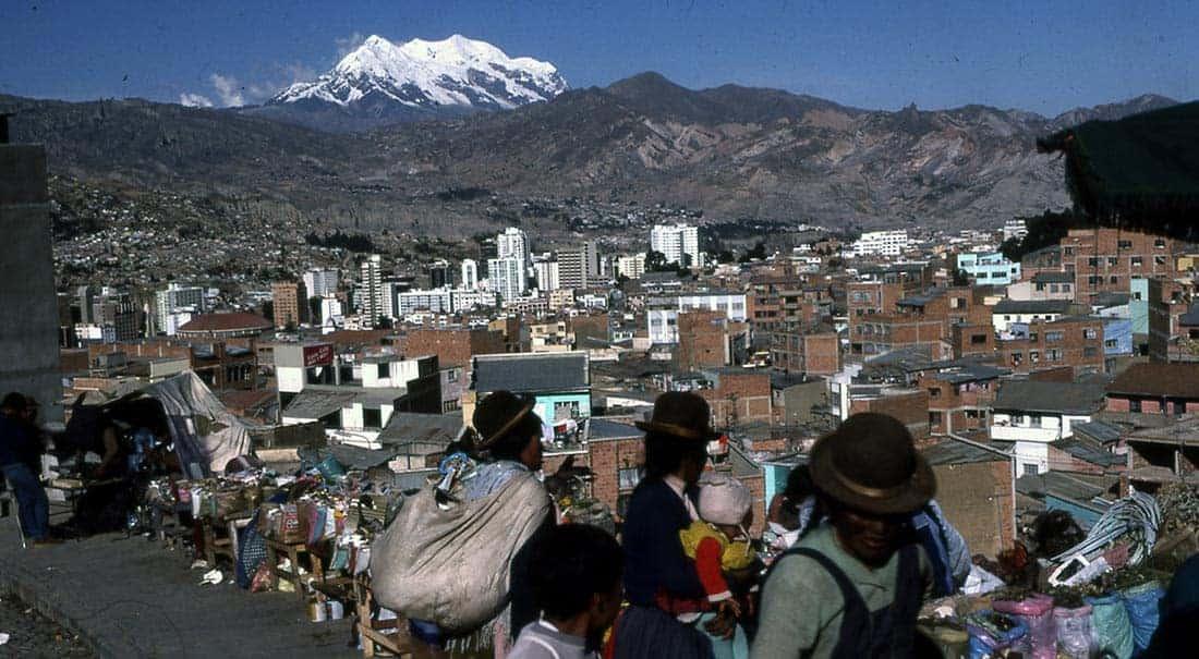 La Paz und illimani