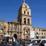 La Paz - San Francisco Kirche