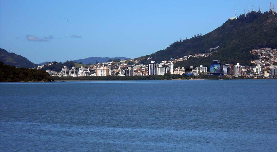 Floripa Blick auf Florianópolis