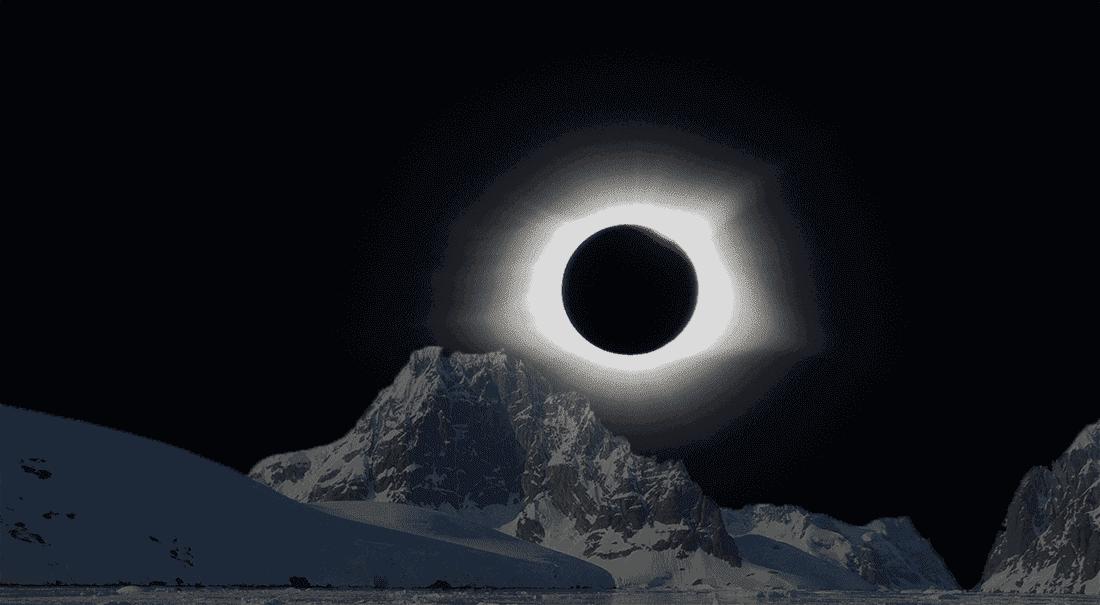 Antarktis Sonnenfinsternis 2021